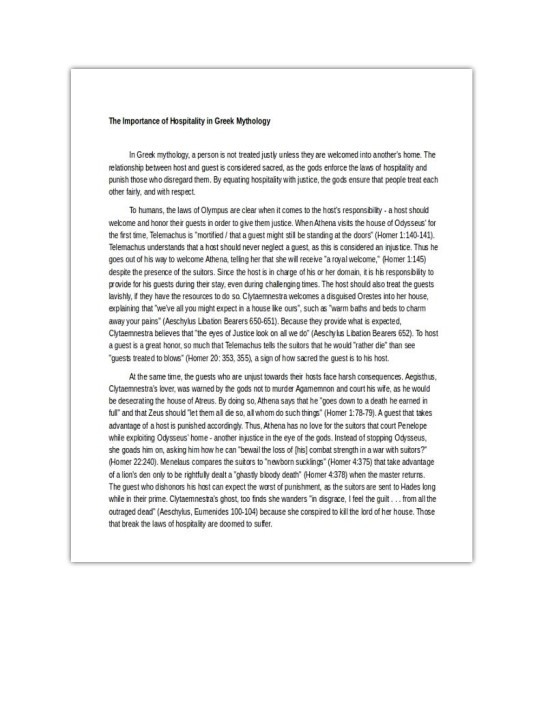 Analytical Essay Example (PDF)