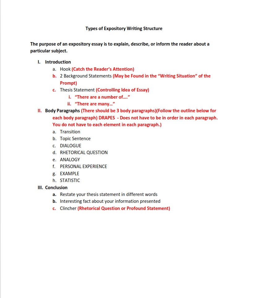 types-of-expository-writing-structure