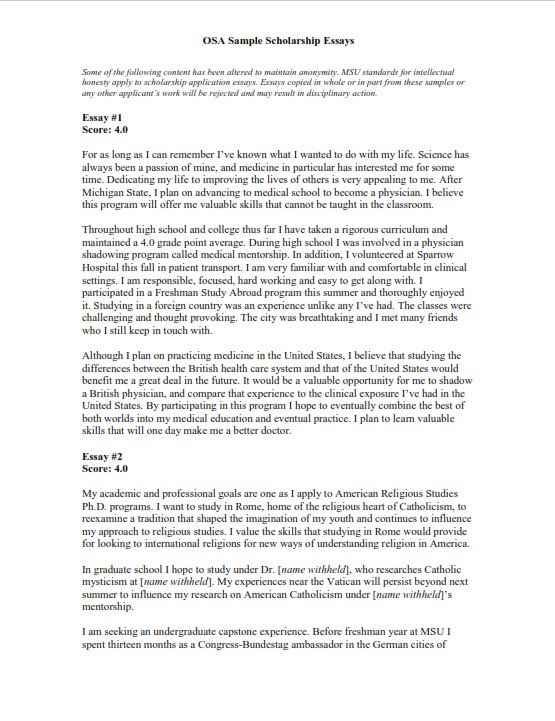 Compare and Contrast Essay Template (PDF)