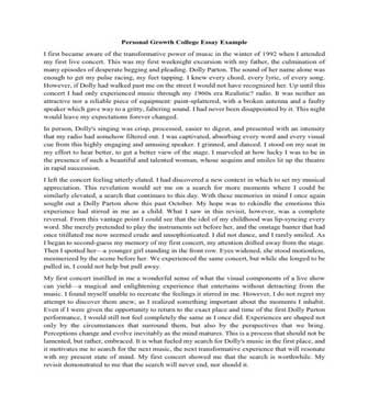Reflective Essay Example for High School (PDF)