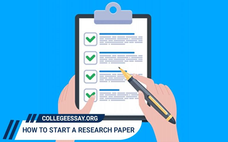 How to Start a Research Paper - An Easy Guide