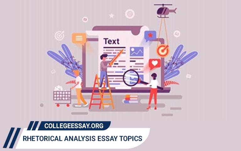 Rhetorical Analysis Essay Topics & Ideas
