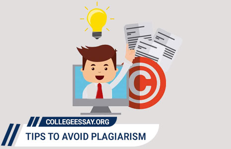 Tips by an Essay Writer to Avoid Plagiarism